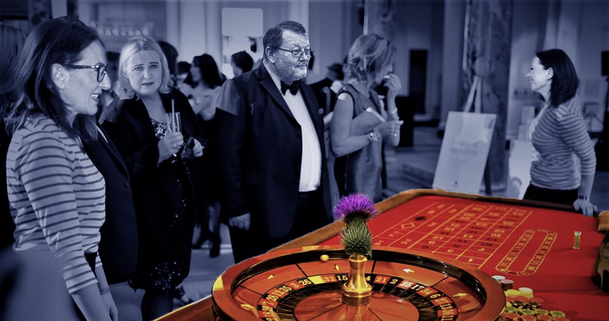 I přes zákaz hazardu se na radnici Prahy 2 hraje ruleta